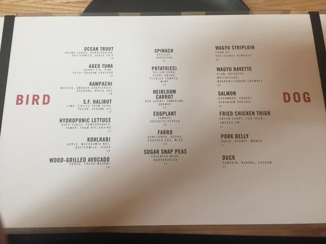 bird-dog-menu